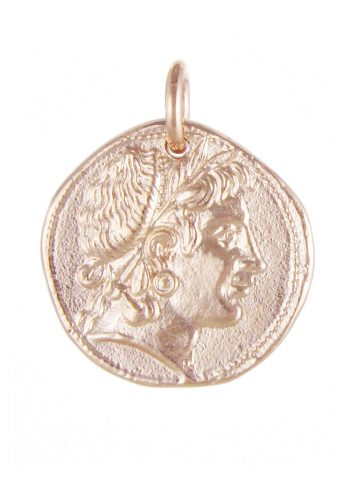 Coin Pendant Rose Gold
