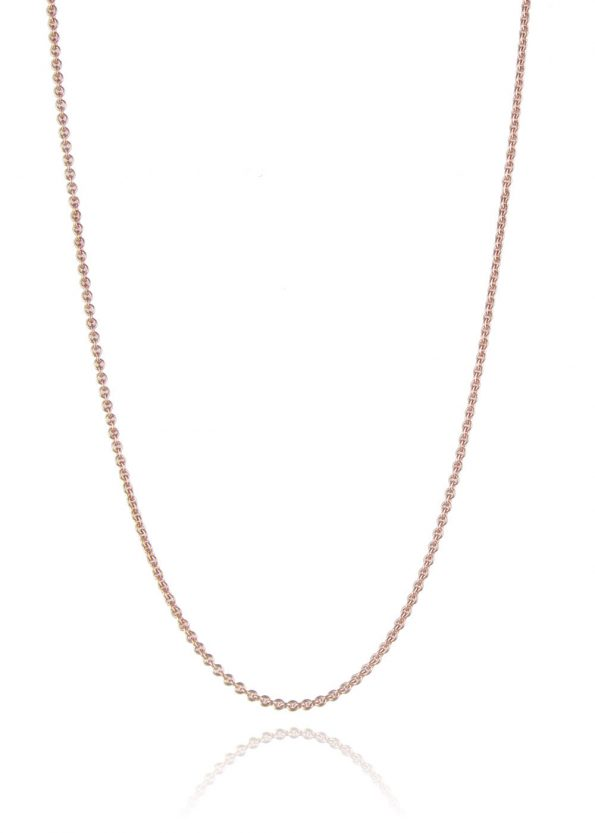 Fine Trace Chain Rose Gold