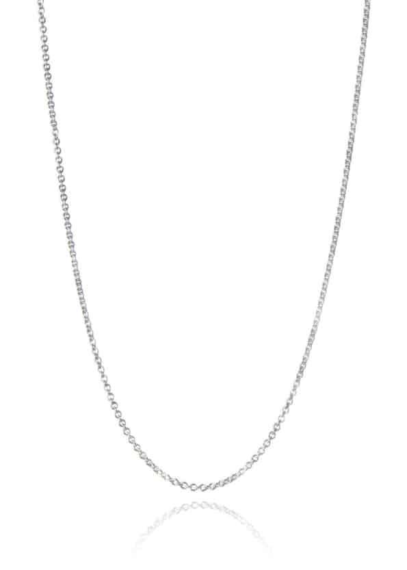 Fine Trace Chain Silver