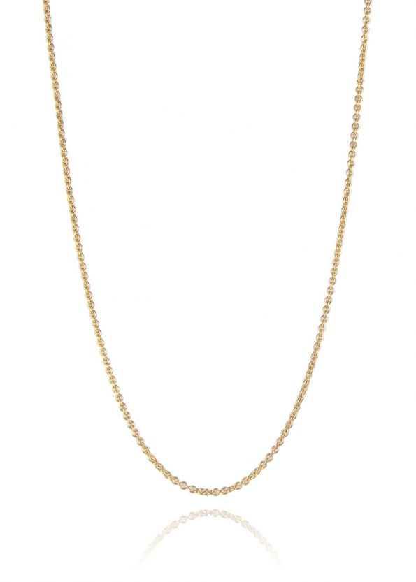 Fine Trace Chain Yellow Gold Plated