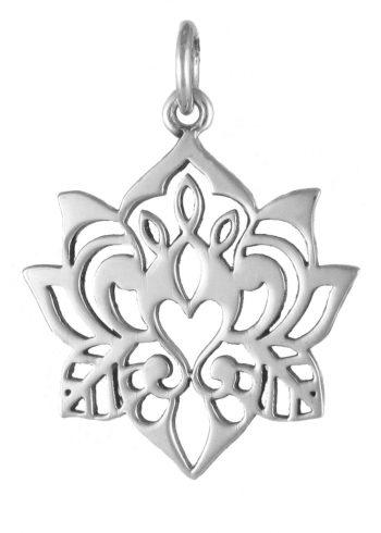 Lotus Pendant Silver