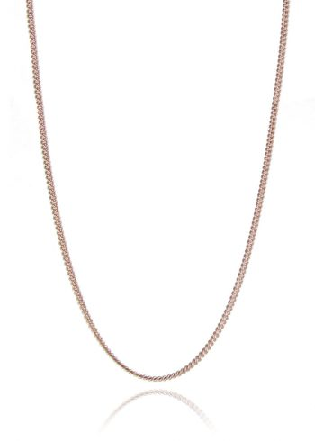 Curb Chain Rose Gold