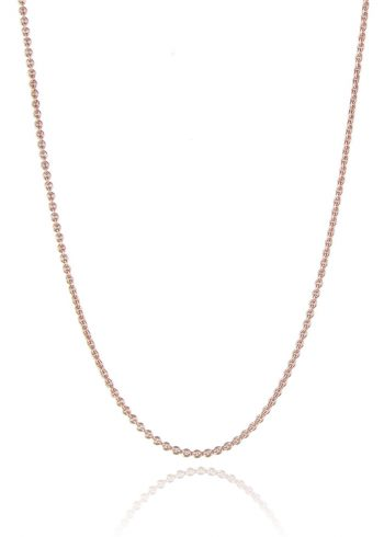 Trace Chain Rose Gold