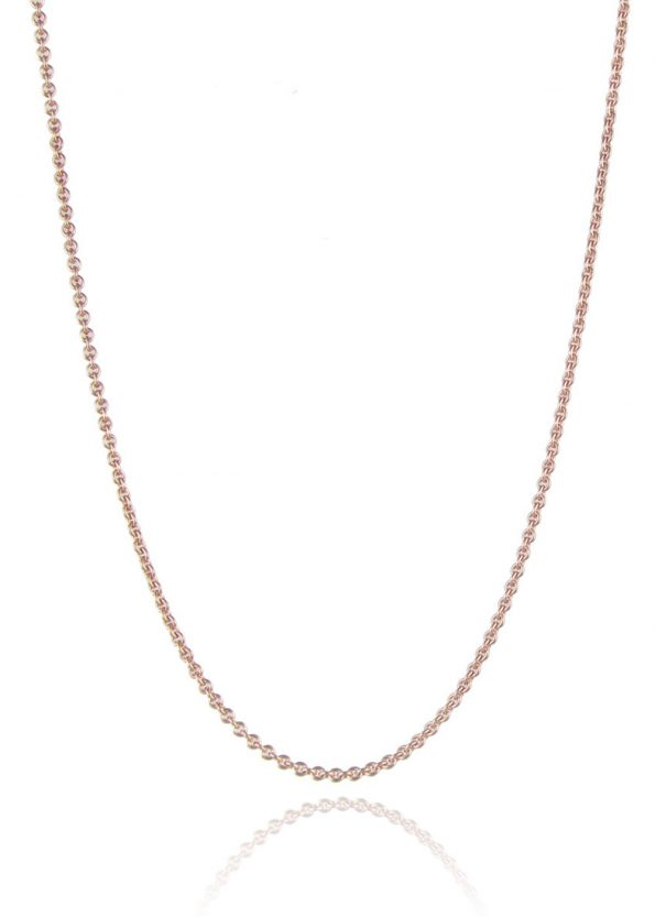 Medium Trace Chain Rose Gold