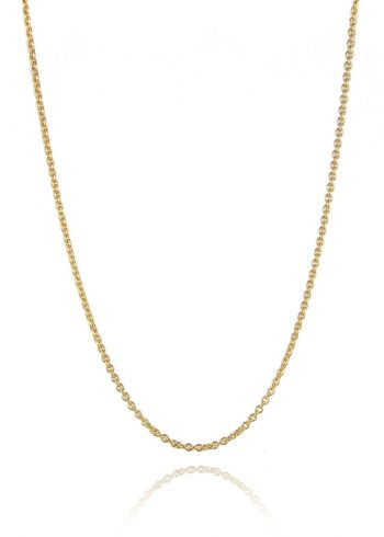 Trace Chain Necklace Gold