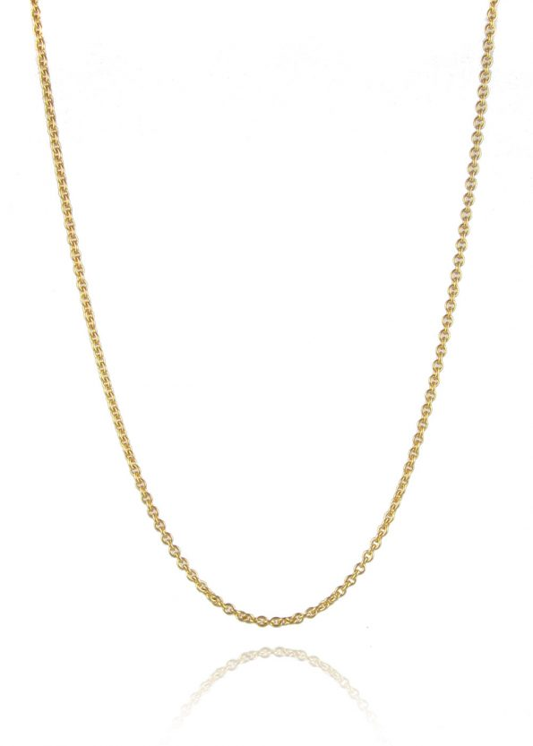 Medium Trace Chain Gold