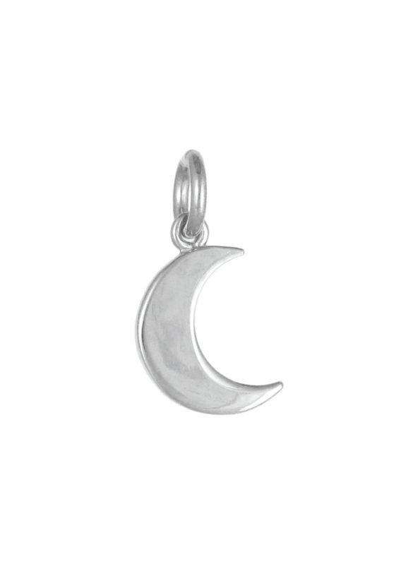 Moon Pendant Silver