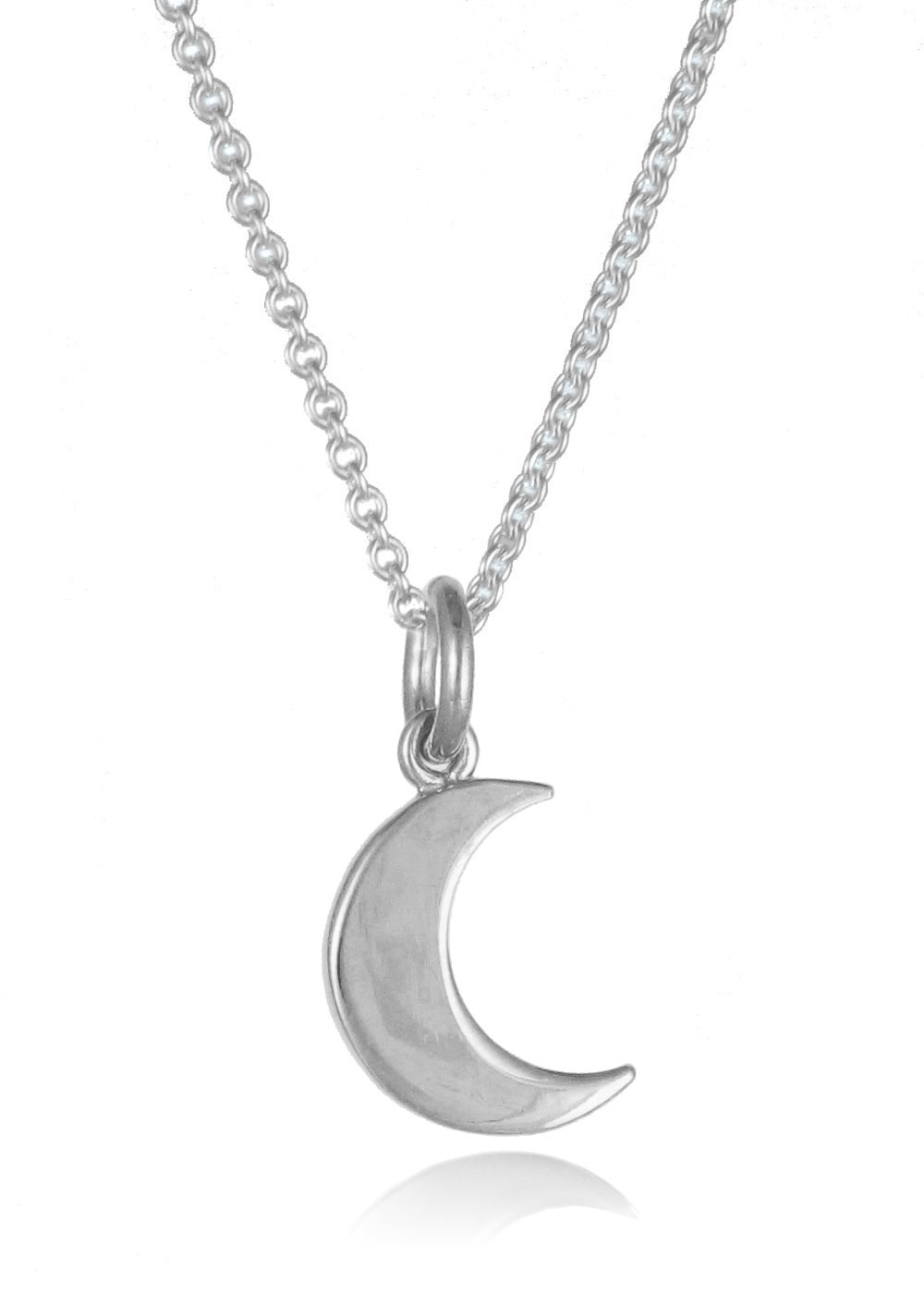 jewellers pendant moon silver cnsmo plants product charmed lily necklace the