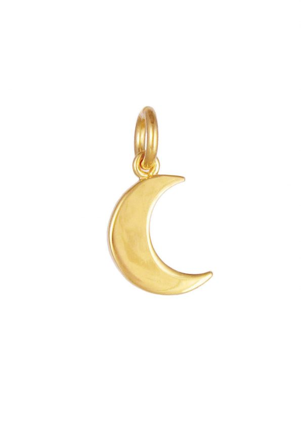 Moon Pendant Gold