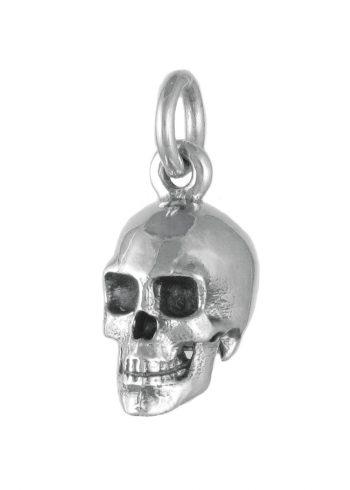 Large Skull Pendant Silver
