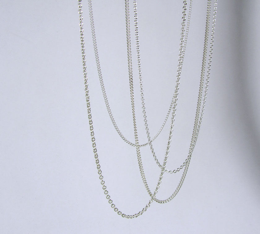 BANNER-BELOW-JULY-4 Fine Curb Chain Silver