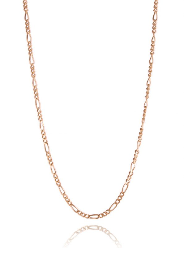 Figaro Chain Rose Gold