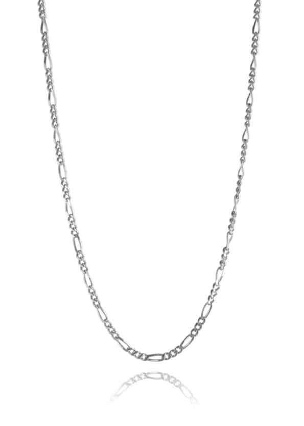 Figaro Chain Silver