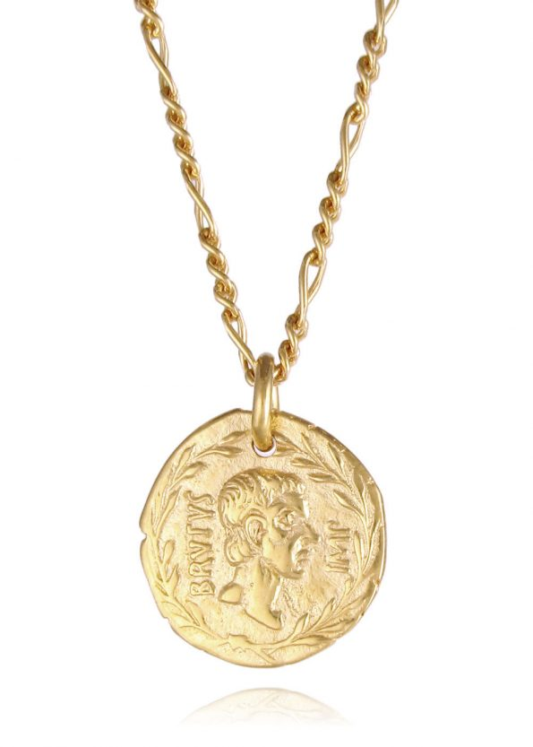 Brutus Figaro Necklace Gold