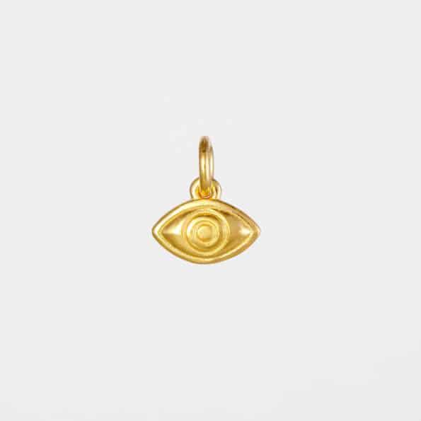 Eye Pendant Gold Vermeil