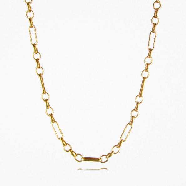 Oval Figaro Chain Gold Vermeil