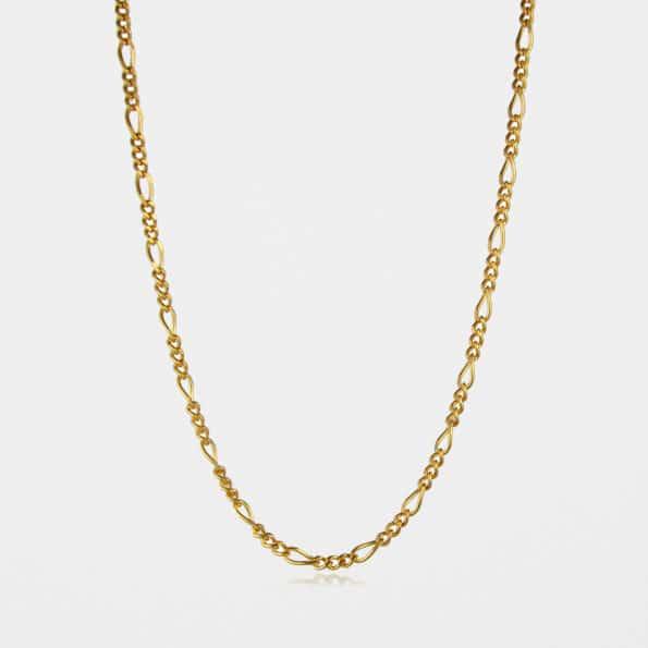 Figaro Chain Gold Vermeil