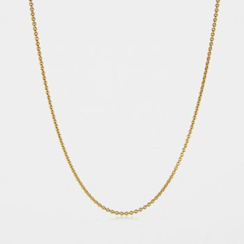 Fine Trace Chain Gold Vermeil