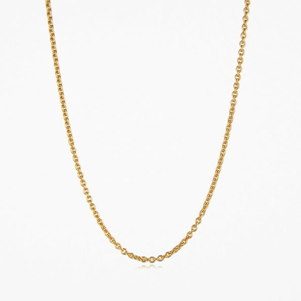 Medium Trace Chain Gold Vermeil