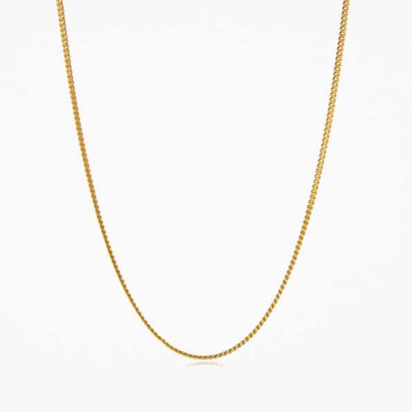 Fine Curb Chain Gold Vermeil