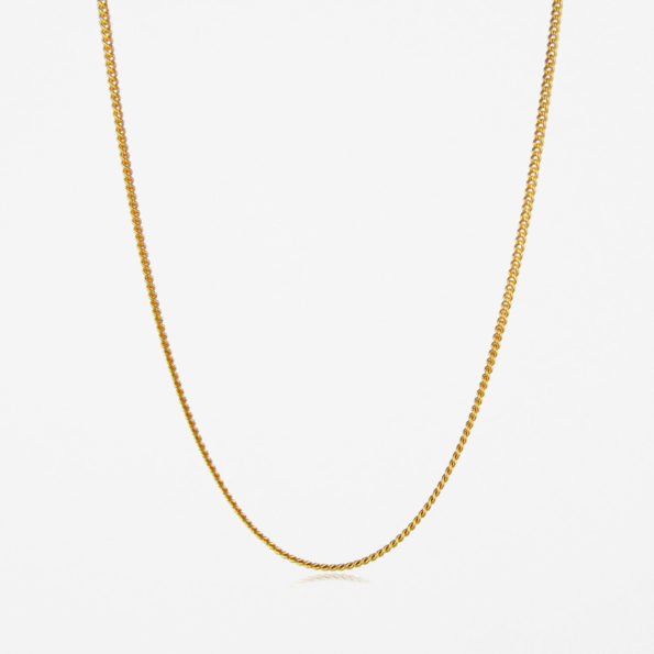 Fine Curb Chain Gold Vermeil