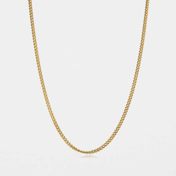 Medium Curb Chain Gold Vermeil