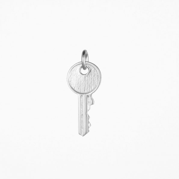 Small Key Pendant Silver