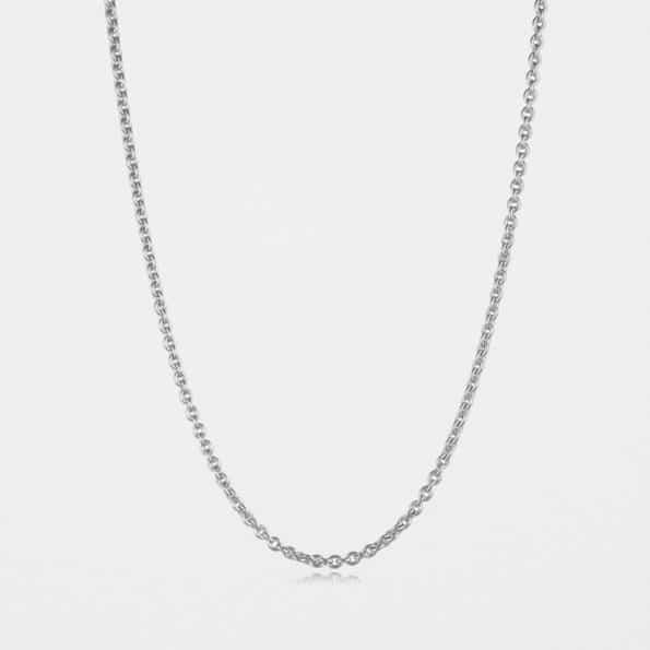 Medium Trace Chain Silver