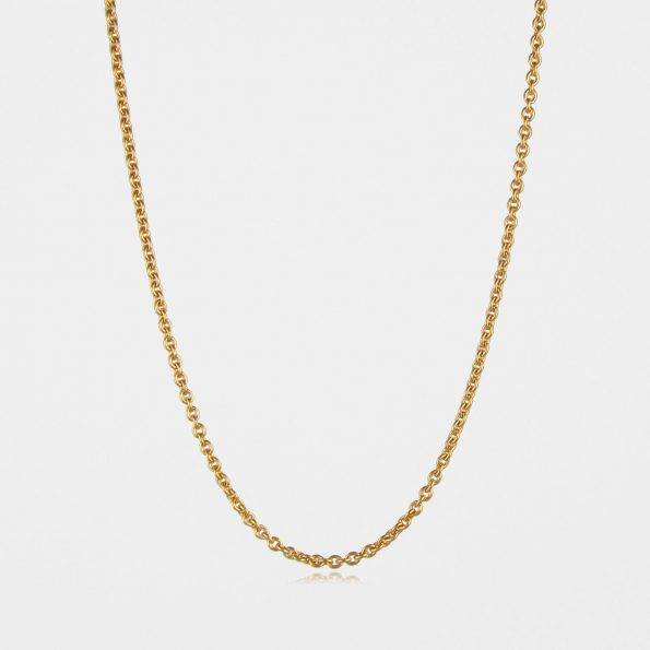 Medium Trace Chain Gold Vermeil