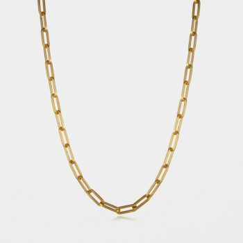 Square Trace Chain Gold Vermeil