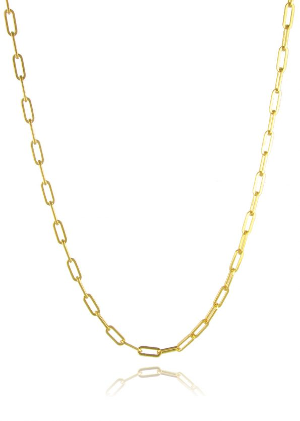 Wide Link Trace Chain Gold