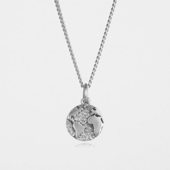 Earth Necklace Silver