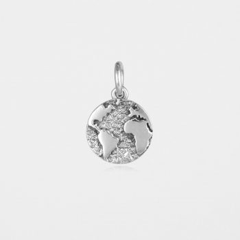 Earth Pendant Silver