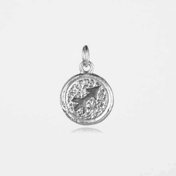 Sagittarius Star Sign Pendant Silver