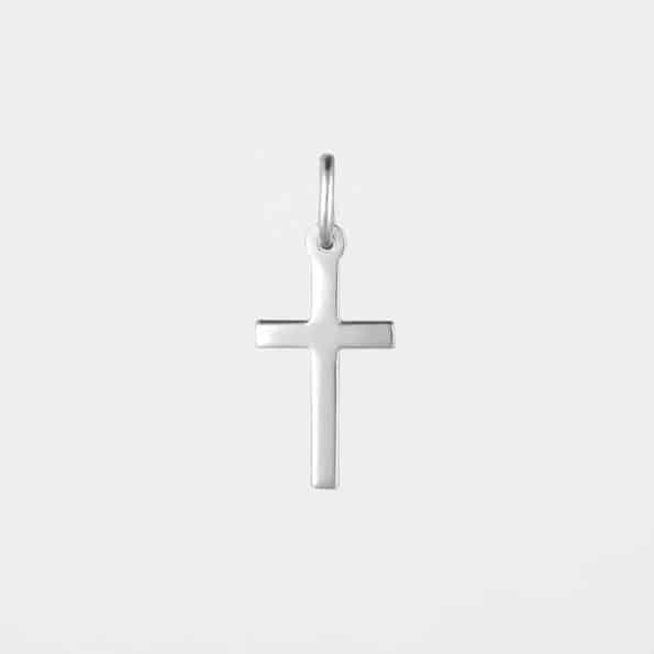 Small Cross Pendant Silver